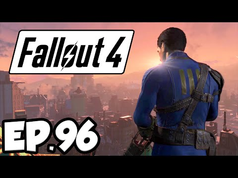 Fallout 4 Ep.96 - MURDER AT THE CLIFF'S EDGE HOTEL!!! (Far Harbor DLC Gameplay)