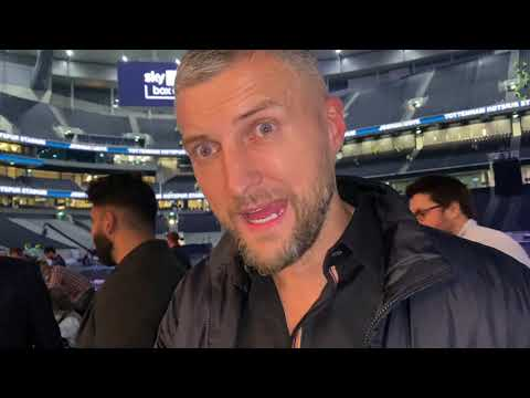 """Download """"I DON'T FANCY AJ IN THE REMATCH!"""" CARL FROCH HONEST THOUGHTS ON USYK DEFEATING ANTHONY JOSHUA"""