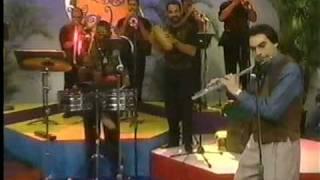 dave valentin con la orquesta del cano estremera