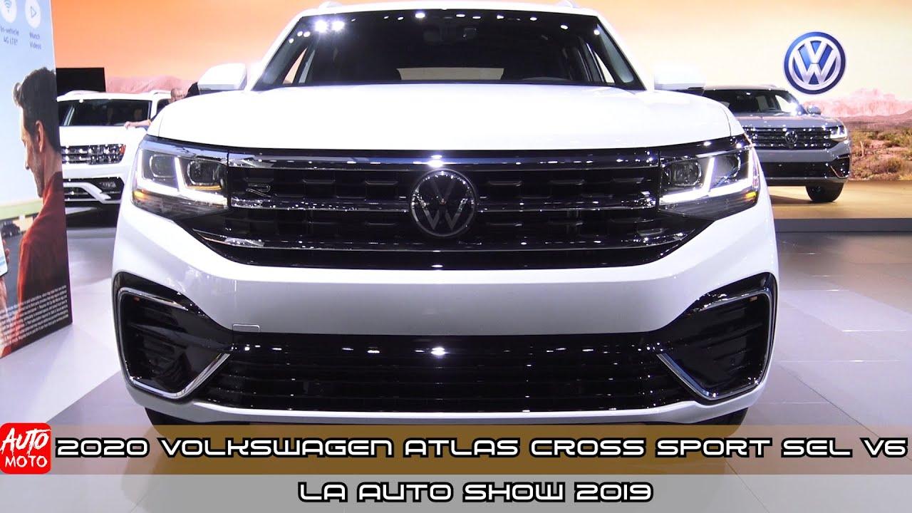 2020 Volkswagen Atlas Cross Sport SEL V6  - Exterior And Interior - LA Auto Show 2019