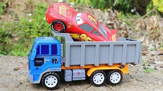 Assemble Lightning Mcqueen race car - Repair a broken car