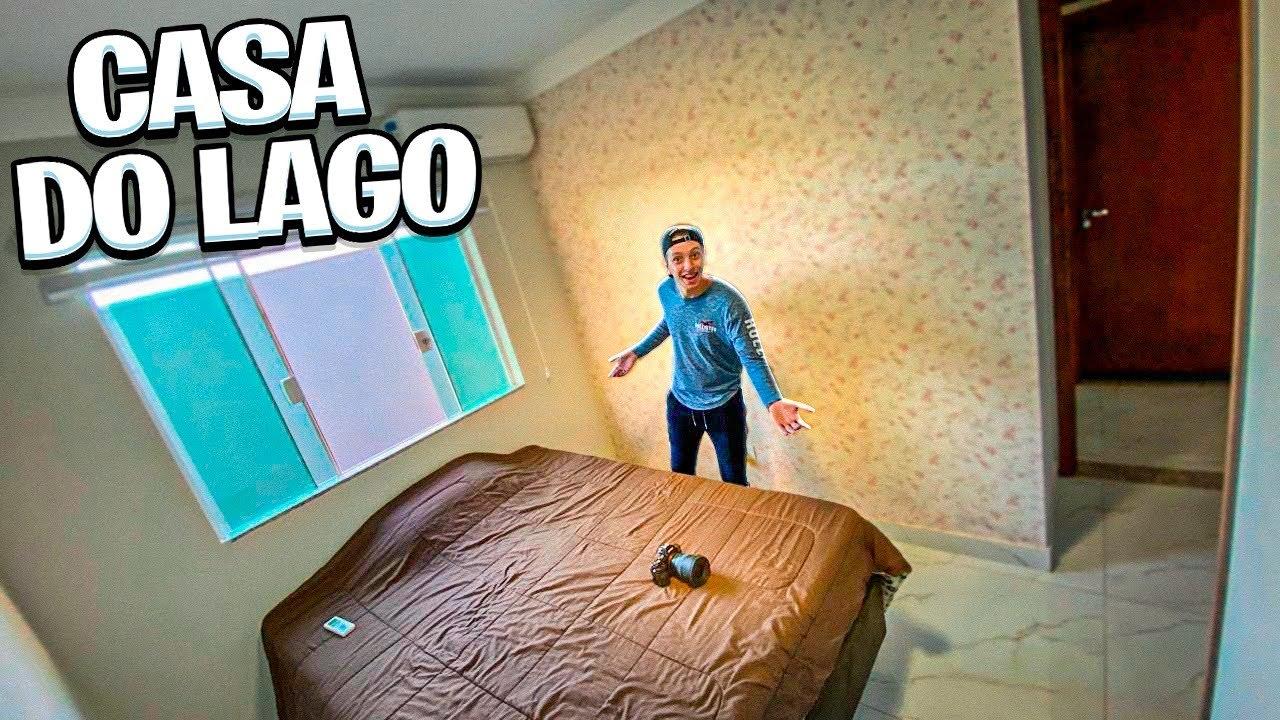 ESSE É O MEU NOVO QUARTO NA CASA DO LAGO !