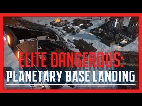 ✔ Elite: Dangerous - Planetary Base Landing Tutorial