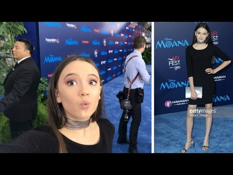 My First Disney Red Carpet Premiere  BTS  with Fiona