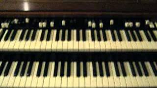 """His eye is on the sparrow"", on piano and organ, by Calvin Yawn"