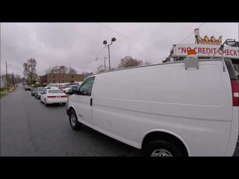 2004 White /Gray GMC Savana G3500 Cargo (1GTHG35U841) with an 6.0L V8 OHV 16V engine, 4-Speed Automatic Overdrive transmission, located at 577 Chester Pike, Prospect Park, PA, 19076, (610) 237-1015, 39.886154, -75.302338 - Photo #0