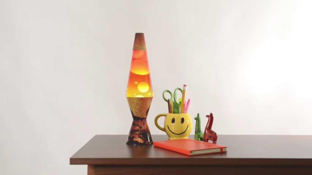 Lava lamp room - Colormax Volcano Lava Lamp