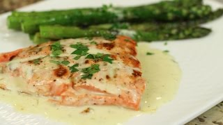 Grilled Salmon With Lime Butter Sauce By Rockin Robin