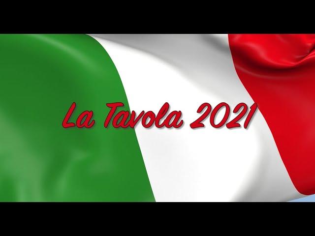 La Tavola PSA 2021