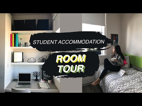 Vlog 10: University Room Tour (London Student Accommodation)