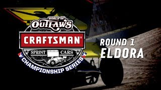 World of Outlaws Sprint Car World Championship | Round 1 at Eldora