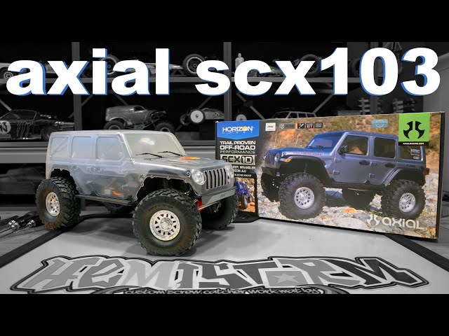 AXIAL's FINEST  -  The SCX103 Jeep JLU Wrangler Kit