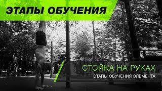 Как научиться делать стойку на руках(этапы обучения)? Стойка на руках обучалка. Handstand tutorial