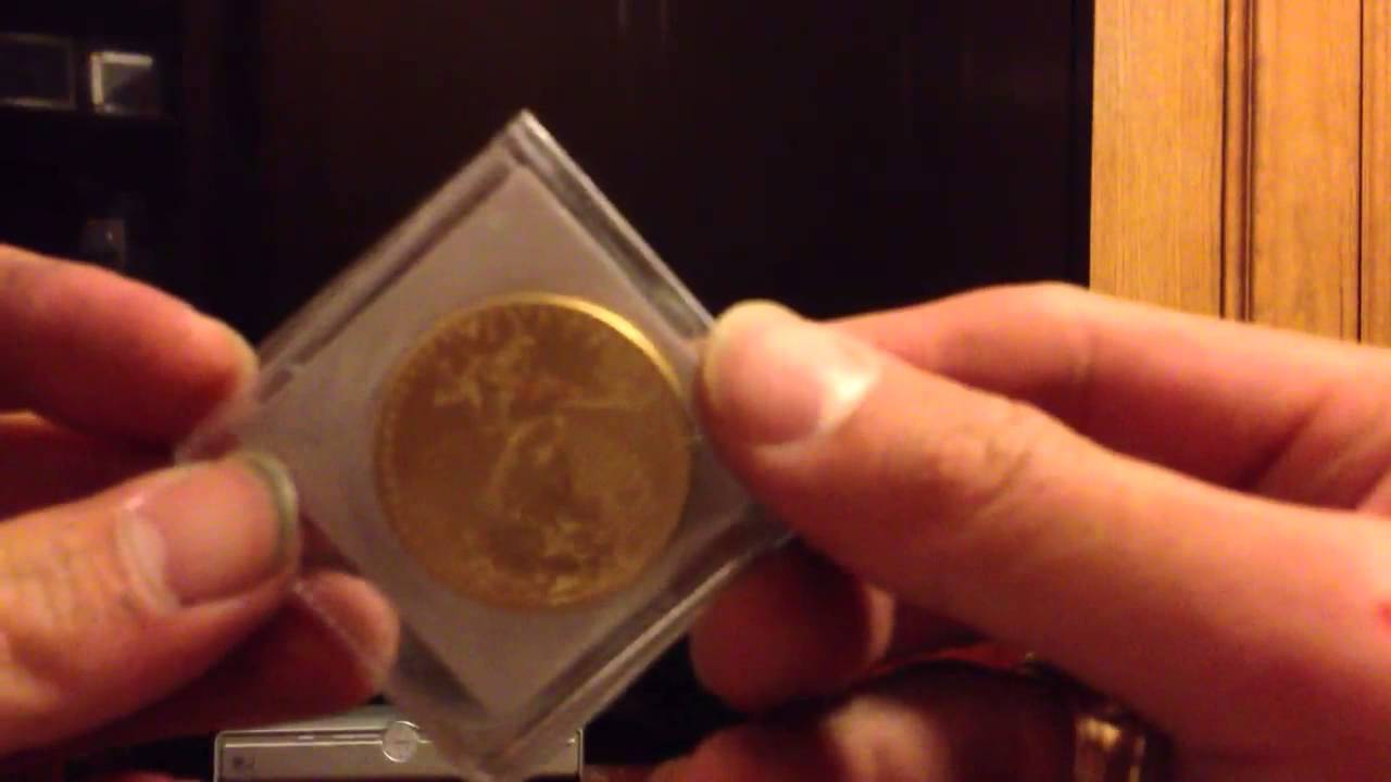 1 Ounce Gold American Eagle Bullion Coin Mail Package Unboxing You