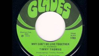 Timmy Thomas - Why Can't We Live Together (1973) Mp3