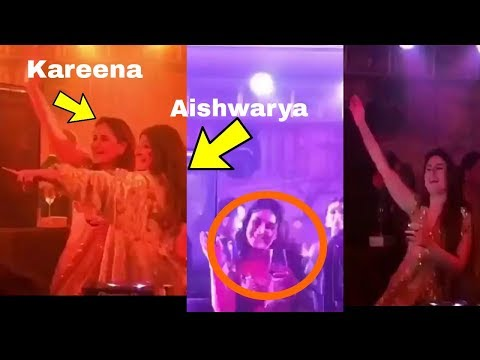 Kareena Kapoor Khan and Aishwarya Rai Bachchan drinking and dancing together |Sonam Reception Mp3