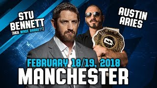 Second Date Added In Manchester With Stu Bennett & Austin Aries