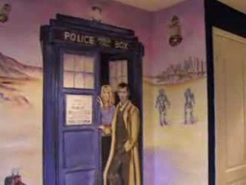 Doctor Who Mural Part 39