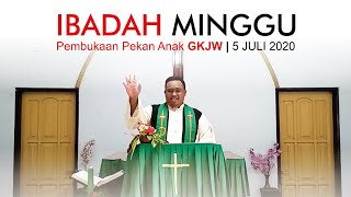 Ibadah Minggu, Pembukaan Pekan Anak GKJW, 5 Juli 2020 | GKJW Jemaat Tunglur.