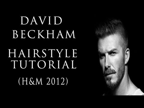 David Beckham Inspired Hairstyle Tutorial 2012 Jesseminty