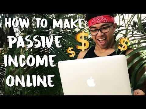 How To Make Passive Income Online | The Easiest Way