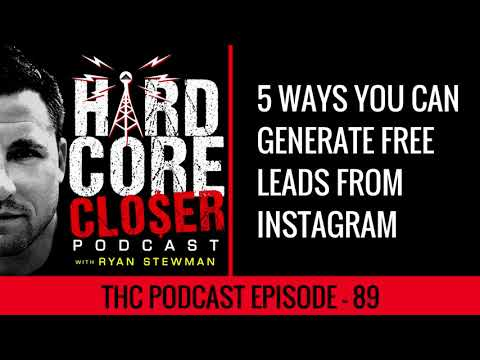 5 Ways Anyone Can Generate FREE Leads From Instagram