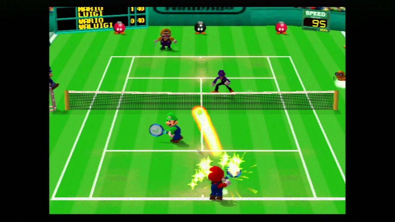 Mario tennis wii virtual console rom
