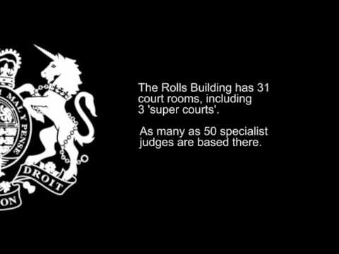 Rolls Building Virtual Tour, Royal Courts Of Justice, London