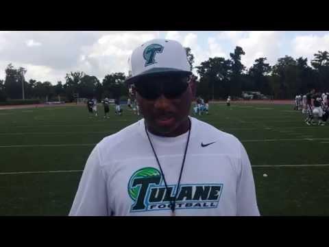 Tulane HC Curtis Johnson Interview, 8/21