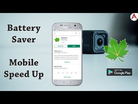 Save Your Mobile Battery & Speed Up Your Mobile Performance With Greenify