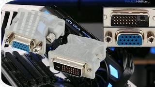DVI, HDMI, VGA і DisplayPort - підключення і сумісність