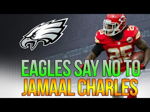Philadelphia Eagles linked with Jamaal Charles? - Yeah....fuck that
