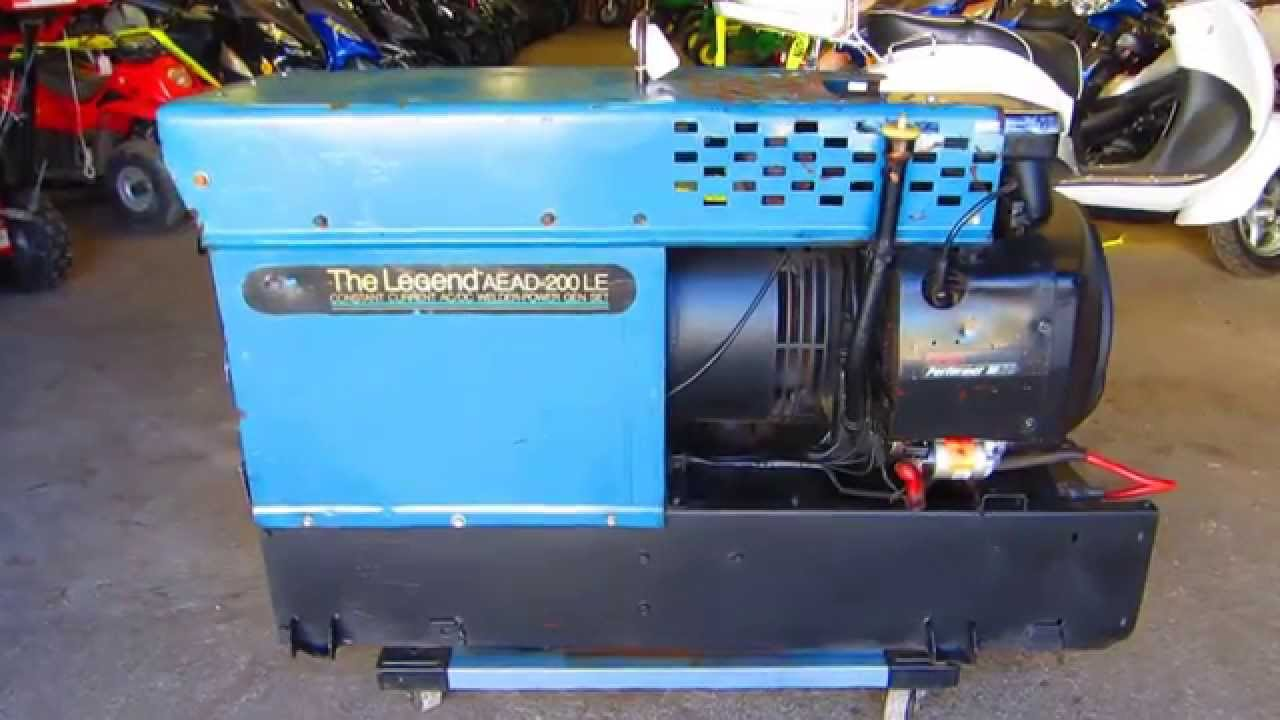 Miller The Legend Aead 200le Engine Driven Welding