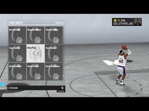 NBA 2K20 Chris Paul Jump Shot