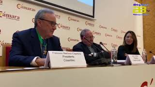 Francisco Martínez Cosentino recibe la Encomienda de la Orden de la Cámara de España
