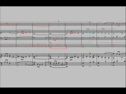 Stretto fugue on a theme by Marcello