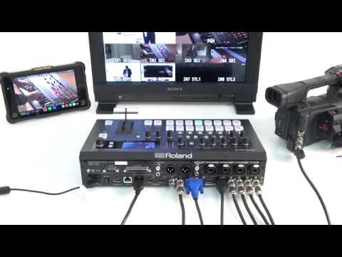 """Connecting Video Equipments"" Roland V-60HD #01"