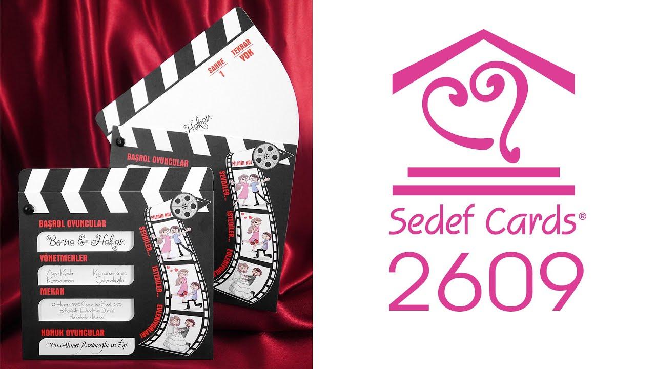 Sedef Cards © | 2609 | Popular Collection | Düğün Davetiyeleri | Wedding  Invitation