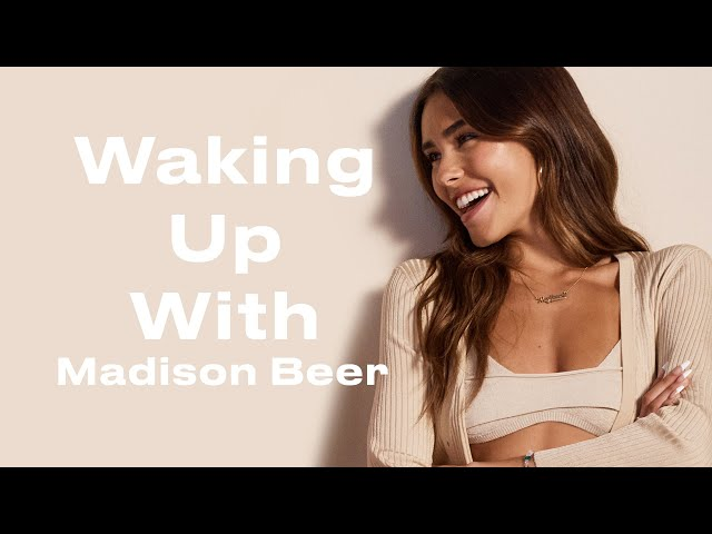 This Is Madison Beer's Morning Routine | Waking Up With | ELLE