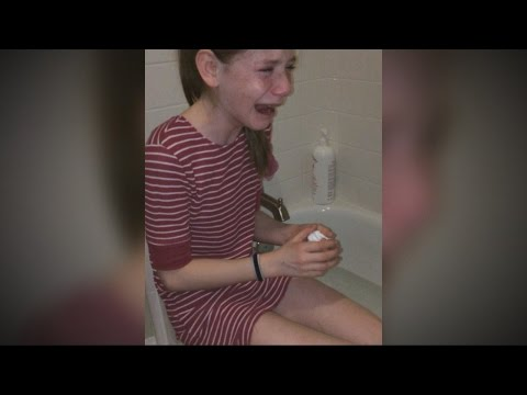 11-Year-Old Girl 'Allergic' to Sunlight | ABC News
