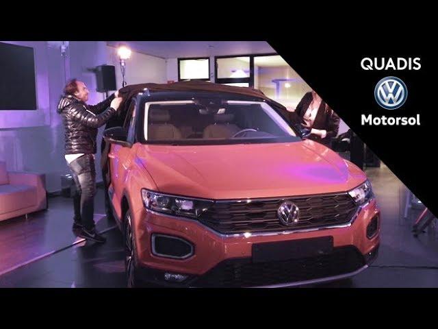 Presentación del nuevo Volkswagen T-ROC en Motorsol | Evento | quadis.es