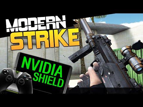 Modern Strike Online - Обзор на Nvidia Shield!