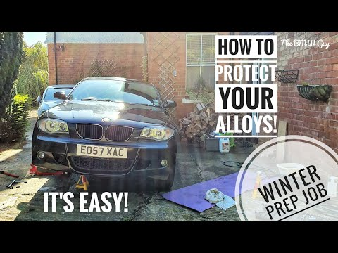 *WHEELS OFF BMW ALLOY CLEANING*!!! - BMW Winter Job