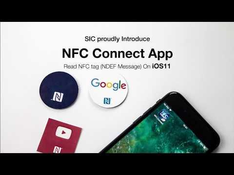 NFC Connect App on iOS11