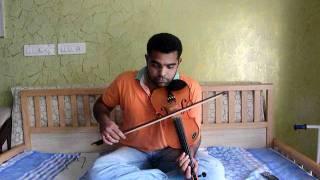 Kaadhal Rojave / Roja Janeman in Violin by Subramoni Rengarajan