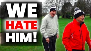 we play the MOST HATED MAN IN GOLF ITS NOT PATRICK REED