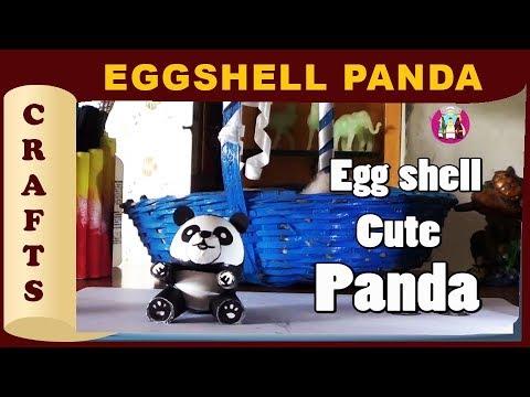 Easter egg shell crafts diy cute panda coolest kids toys you can easter egg shell crafts diy cute panda coolest kids toys you can make yourself artos tv solutioingenieria Images
