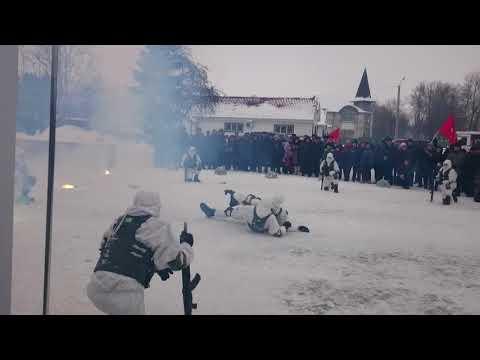 Показуха Разведбатальона 25 Псковской бригады в Волосово