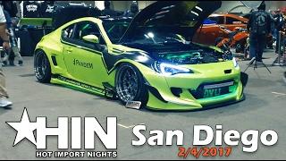 Video Show Cars and Import Models at Hot Import Nights San Diego 2/4/17 download MP3, 3GP, MP4, WEBM, AVI, FLV Juni 2018