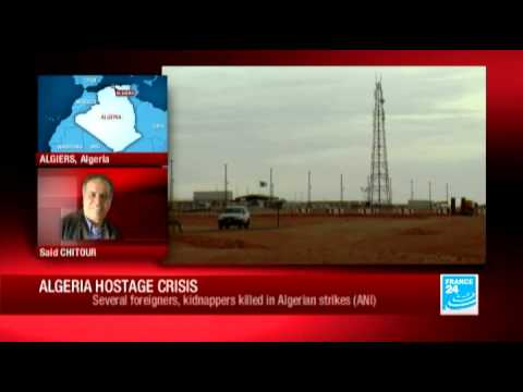 Algeria hostage crisis: ongoing operation at gas plant, situation quite confusing